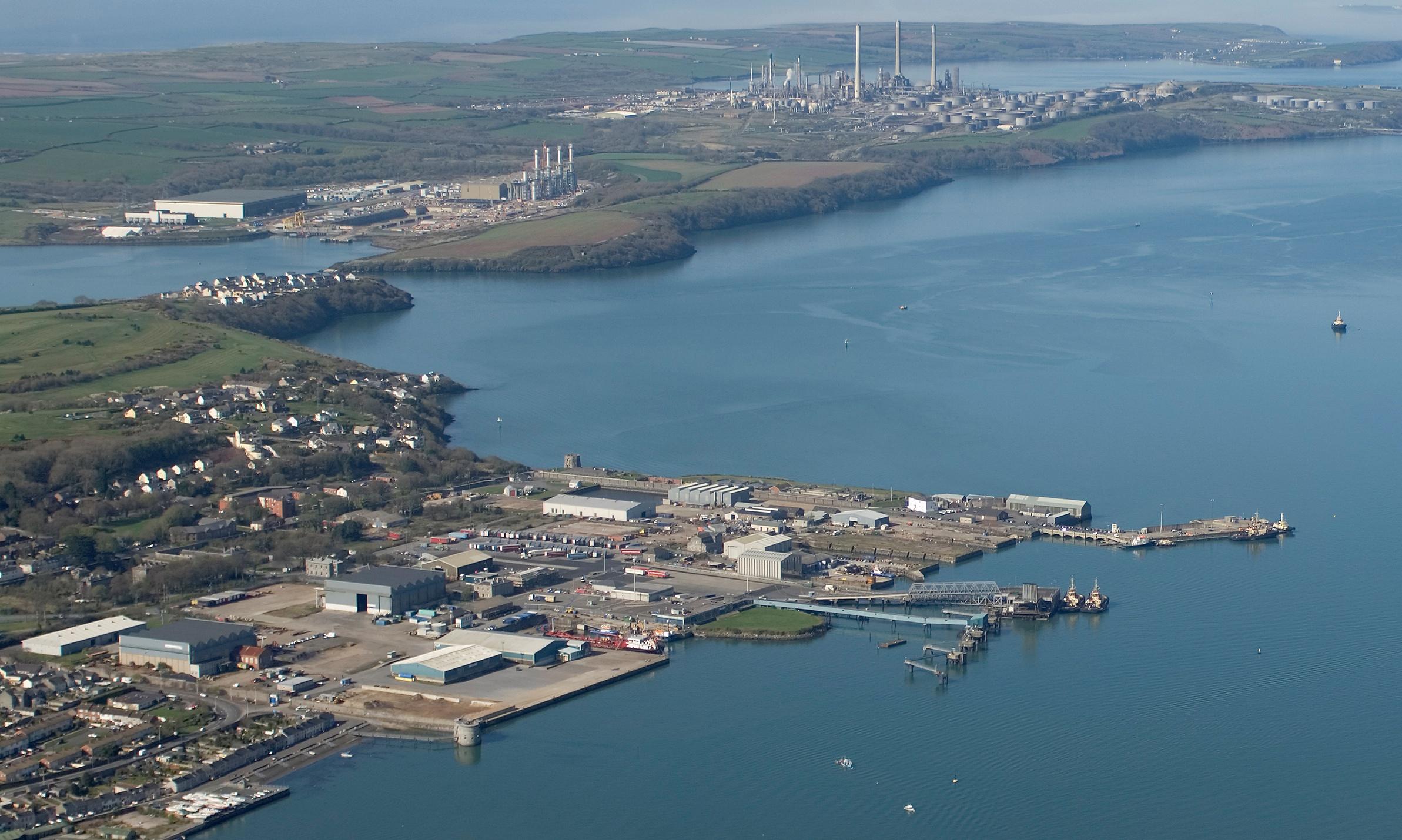 Haven Waterway Enterprise Zone Marine Energy Wales
