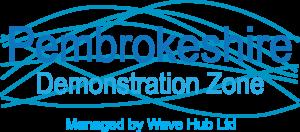 Wave Hub Pembrokeshire DZ Logo