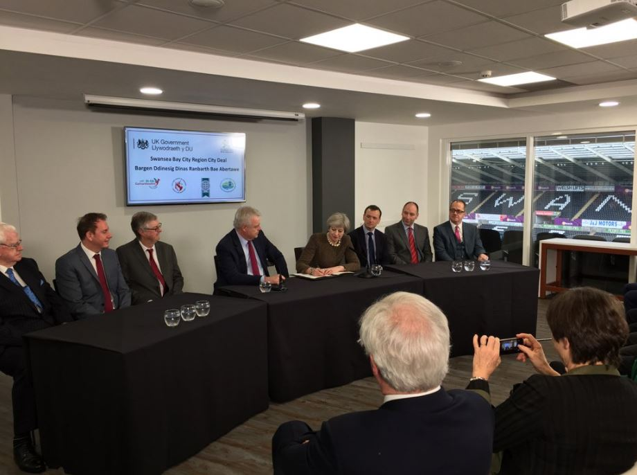 PM signing Swansea Bay City Deal