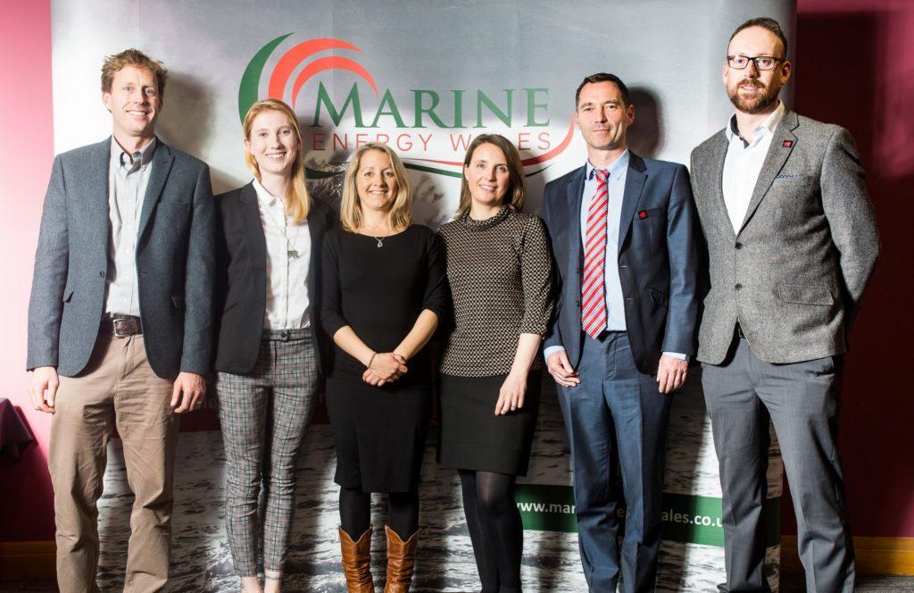 The Pembrokeshire Coastal Forum Team (L-R: Paul Renfro, Holly Pretious, Louise Rigby Williams, Ceri Crichton, David Jones, James Dyer)