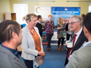 Mark Drakeford AM meets with Marine Energy Wales and Pembrokeshire Coastal Forum team