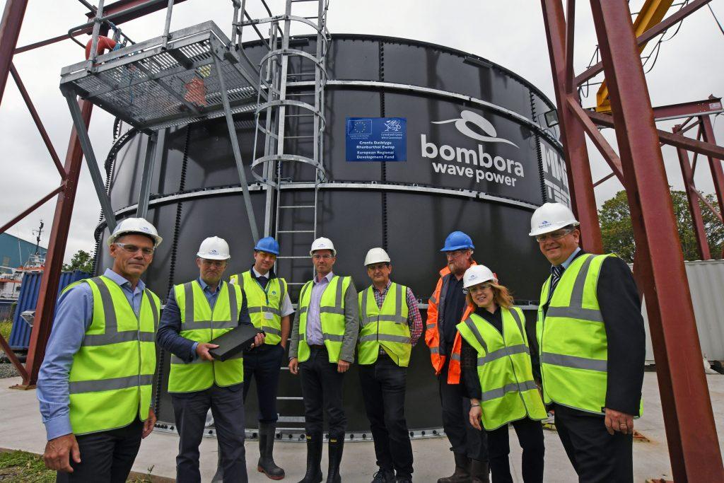 Simon Hart MP visits Bombora Test Tank & Partners