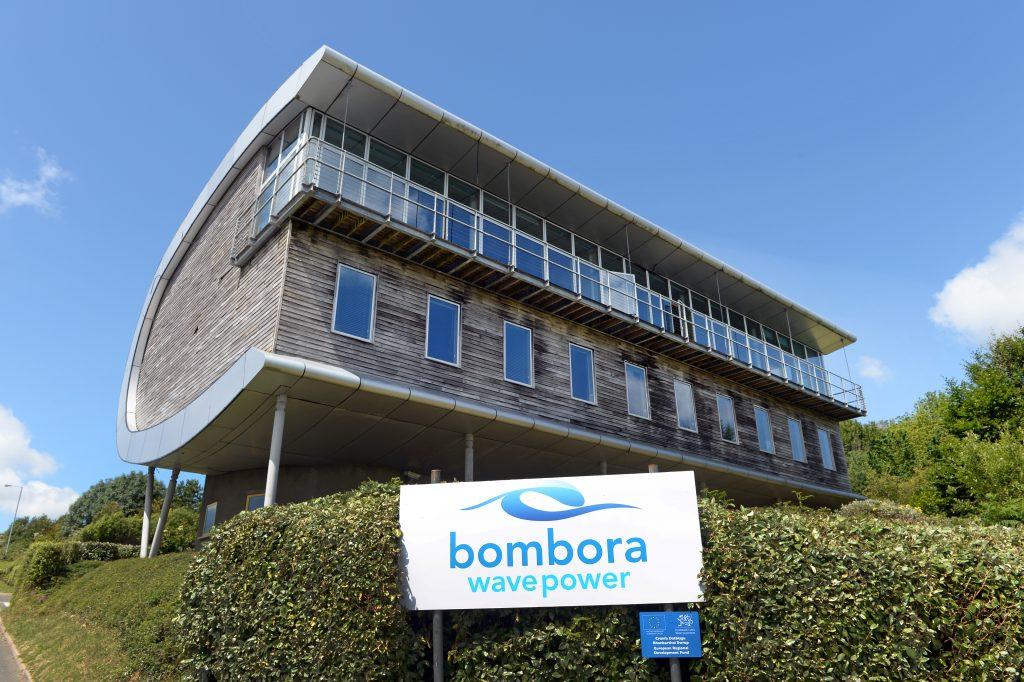 Bombora's offices in Pembrokeshire