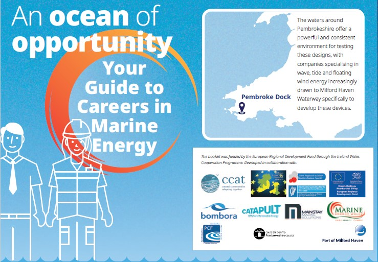 Ocean of opportunity careers booklet cover